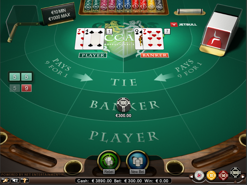 Rules Of Card Games Baccarat