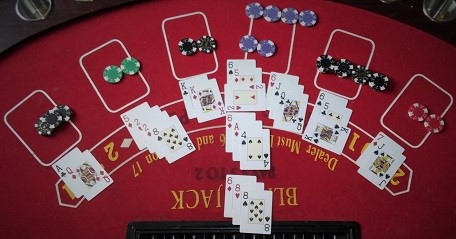 Swish card game blackjack